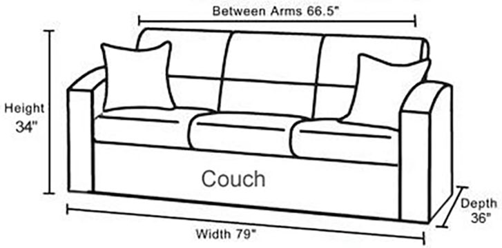 Couchbrookdimensions