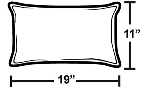 Pillowrectangledimensions